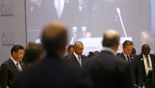 Comienza la cumbre del G20 con un minuto de silencio por el terrorismo