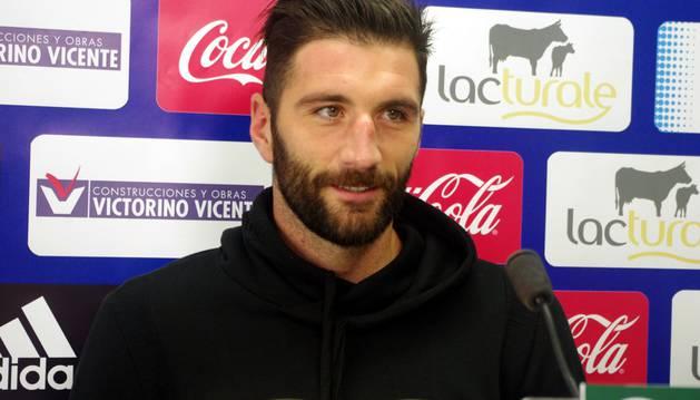 Bogdan Milic, en rueda de prensa.