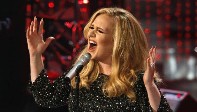 La cantante británica Adele