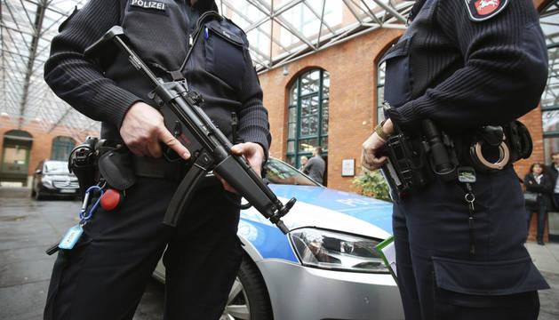 Las medidas de seguridad se han visto incrementadas tras los atentados de la semana pasada en París.