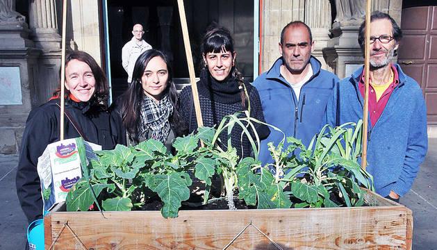 Proponen poner en marcha un huerto comunitario en el Casco Antiguo