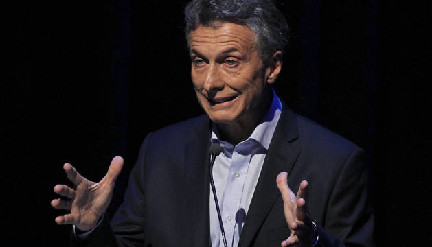El opositor Macri saca ventaja un debate  inédito en Argentina