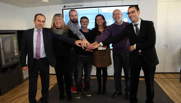 Jesús Mari Sánchez Ruiz, Matilde Ruano, David Crespo, Mariano Gracia, Ana Díez Fontana, Manuel Campillo, y David Navarro Marco.
