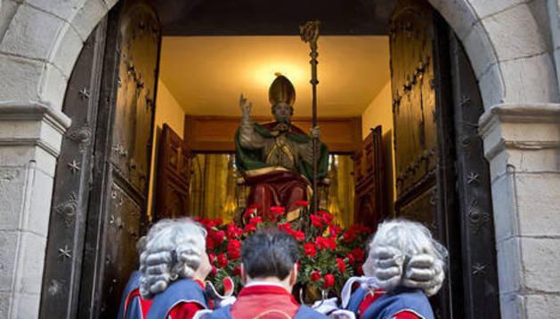 Procesión de San Saturnino del año pasado.