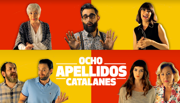 'Ocho apellidos catalanes'.