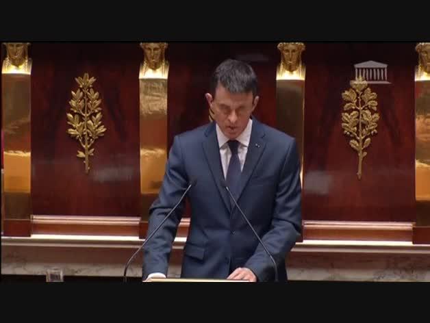 Manuel Valls advierte que el DAESH podría usar armas químicas