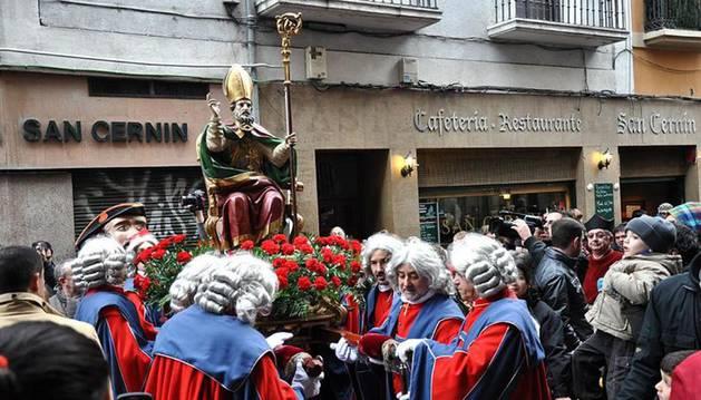 Procesión de San Saturnino.