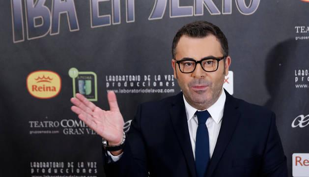 El presentador de televisión, Jorge Javier Vázquez.