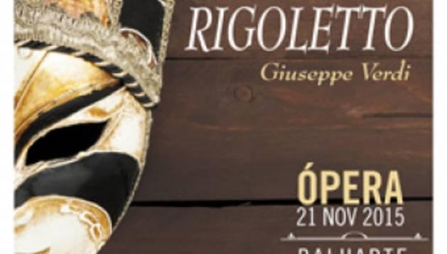 Cartel de Rigoletto, de Giuseppe Verdi.