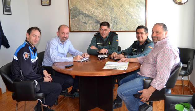 Andosilla pide más coordinación en  la seguridad de Tierra Estella