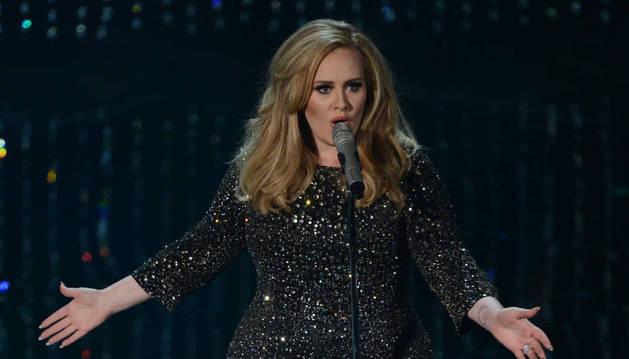 La artirsta Adele.