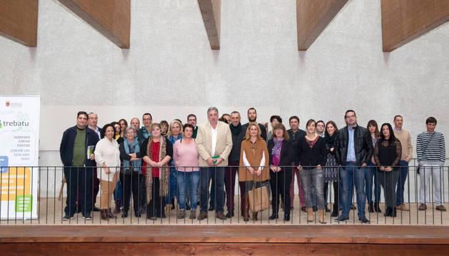 Participantes en el taller organizado por Proyecto Trebatu.