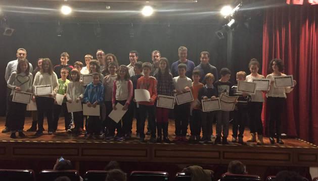 La escuela de música de Tafalla premia a alumnos