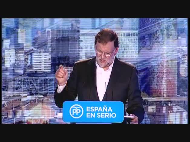 """Rajoy a los catalanes: """"Nadie va a convertiros en extranjeros"""""""