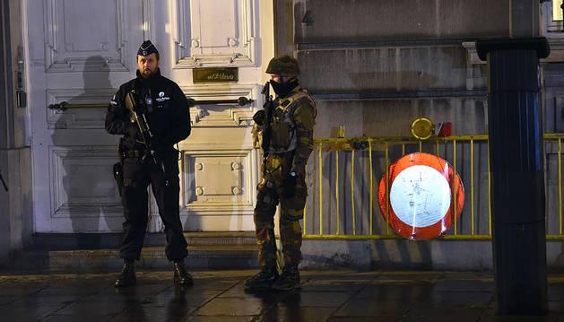 La Policía belga efectúa varias operaciones antiterroristas en Bruselas