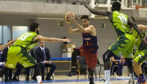 Barcelona B-Planasa Navarra.