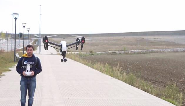 Drones: Navarra, a vista de pájaro