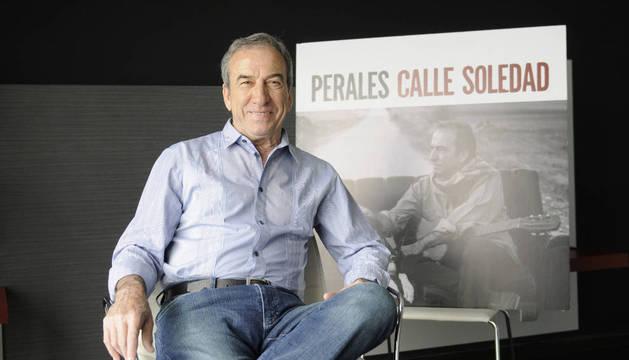 El cantautor José Luis Perales.