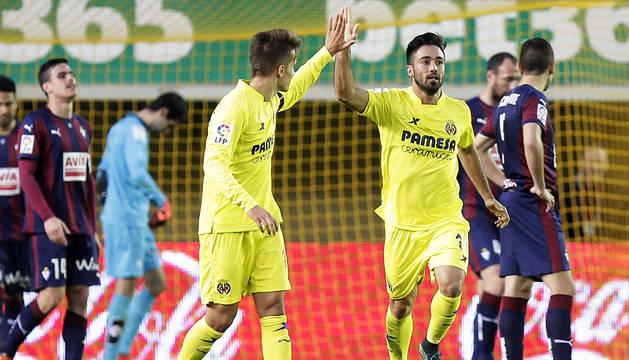Empate en un buen choque entre Villarreal y Eibar