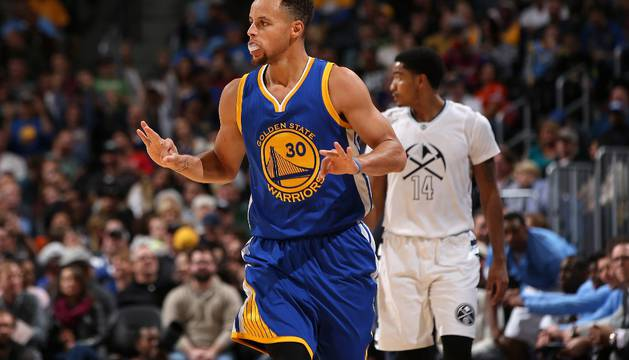 Stephen Curry, estrella de Golden State Warriors.