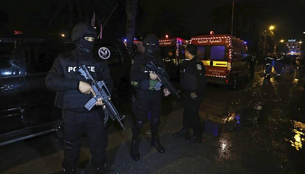Al menos once muertos tras un atentado en Túnez