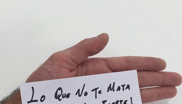 Imagen subida por Víctor Valdés en su cuenta de Twitter.