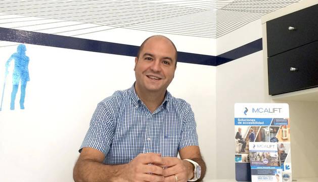 Rubén Cremallet, director comercial de Imcalift