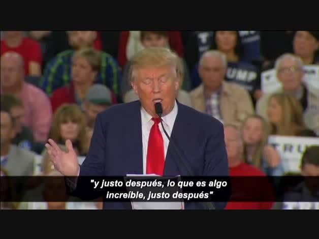 Donald Trump se burla en público de un periodista discapacitado