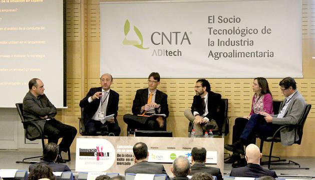 Un momento de la Jornada de la innovación de CNTA