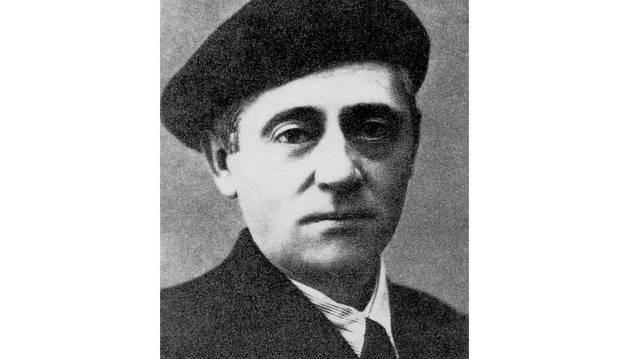 El escritor y periodista Félix Urabayen.