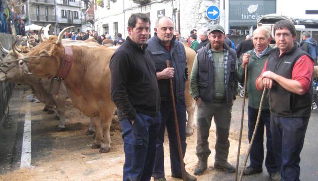 Patxi Gortari Oteiza, Juan Ramón Iturbide Maritorena, Unai Mendiberri Aldaz, Esteban Etxebeste Mitxelena y José Antonio Igoa Etxebeste.