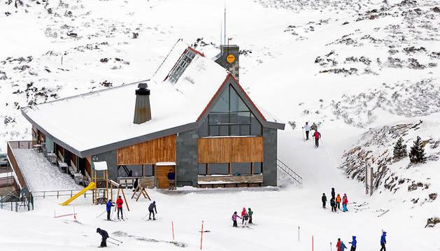 Centro de Esquí Nórdico Roncalia.