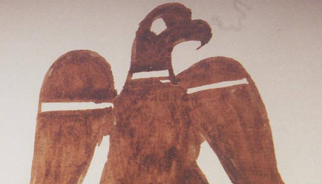 El aguila, un signo personal usado por  Sancho VII el Fuerte (1194-1234), de origen familiar.