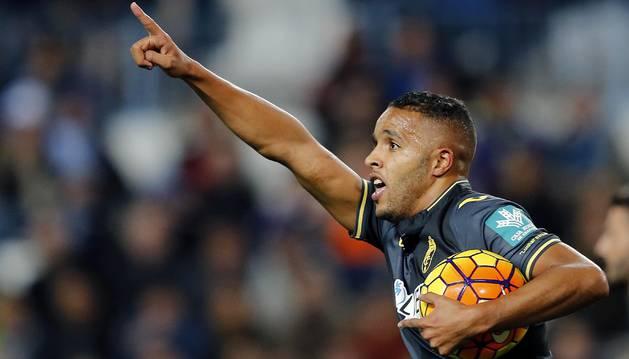 El Arabi marcó el 2-1 del Granada.