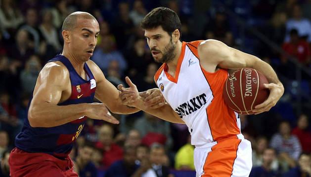 Ricardo Úriz, contra el Barcelona.