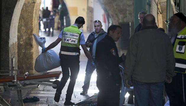 Un palestino muerto tras apuñalar a un agente de Policía en Jerusalén