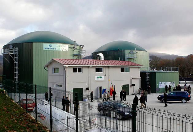 Imagen de las instalaciones, inauguradas el 14 de diciembre de 2010 en Iraizotz (Ultzama).