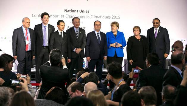 Conferencia del precio del carbono dentro de la 21 Conferencia de Naciones Unidas sobre el Cambio Climático (COP21).