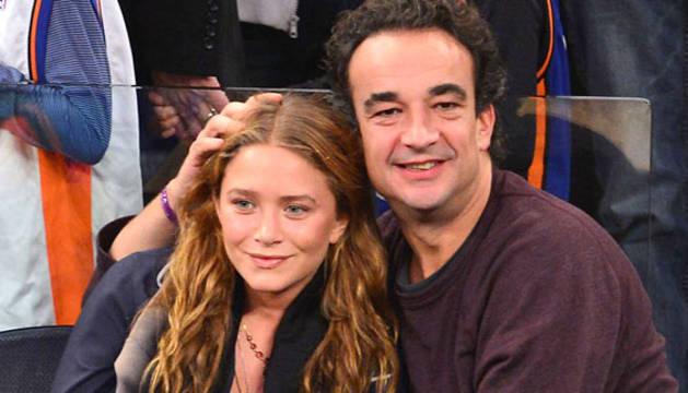 Mary-Kate Olsen y Olivier Sarkozy.