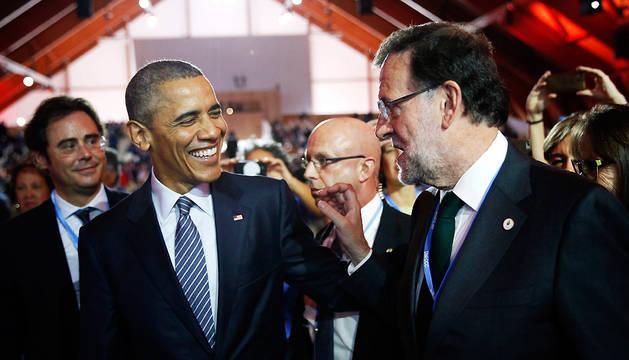 Rajoy promete una Ley de Cambio Climático si gana las elecciones