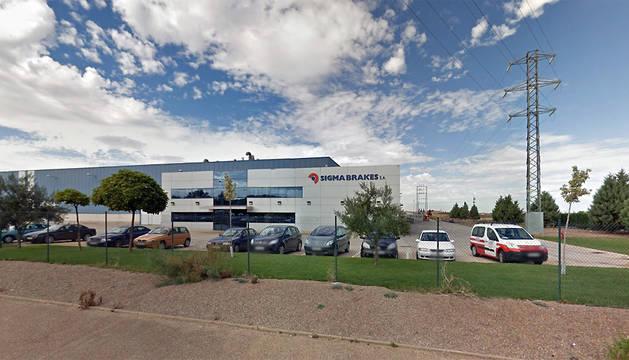 Desalojada una empresa en Tudela por el incendio de una máquina