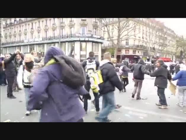 Manifestaciones por la Cumbre del Clima de París