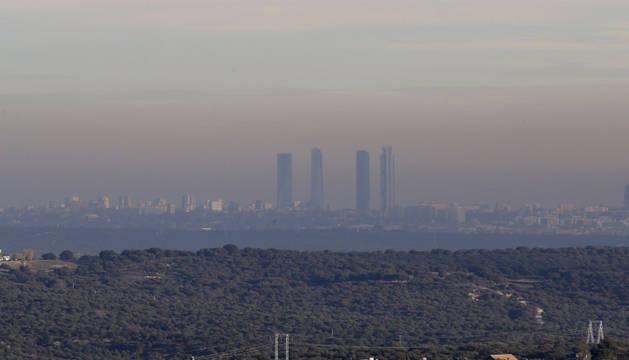 Mañana no se podrá aparcar en el centro de Madrid por contaminación