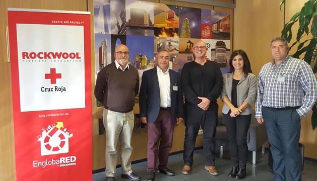 Pedro Mª García Dévora, Pedro Herrero, Mikel Solchaga, Esther Terrado y Mikel Urriza.