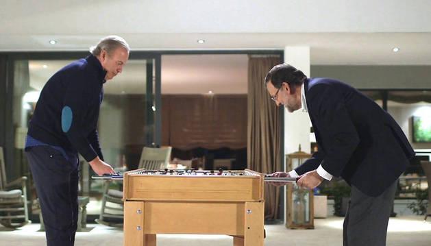 Rajoy visitará a Bertín Osborne en 'En la tuya o en la mía'