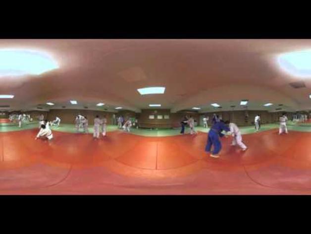Video interactivo del club judo Ardoi