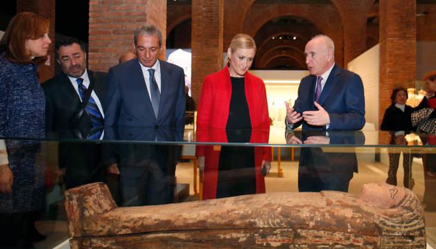 'Cleopatra y la fascinación de Egipto' llega a Madrid