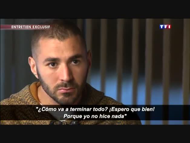 """Benzema: """"Fui sincero con Valbuena. Y nunca, nunca hablamos de dinero"""""""