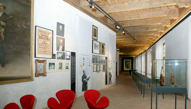 Visita guiada a la Sala Museo Pablo Sarasate