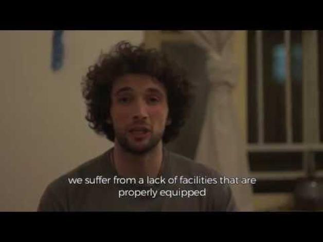 Campaña de crowfunding del palestino Mohamad Al Jatib
